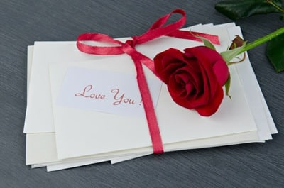 geschriebene Heiratsantraege
