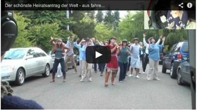 Flashmob Hochzeitsantrag