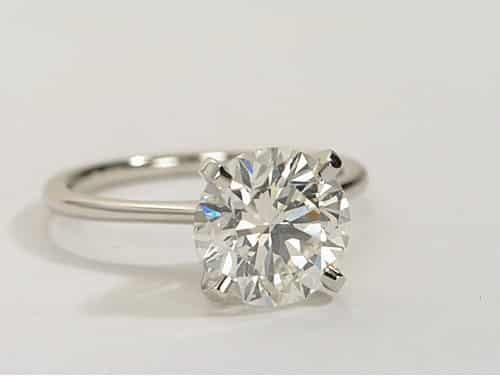 Geschichte des Verlobungsringes - Diamantring 1 Karat