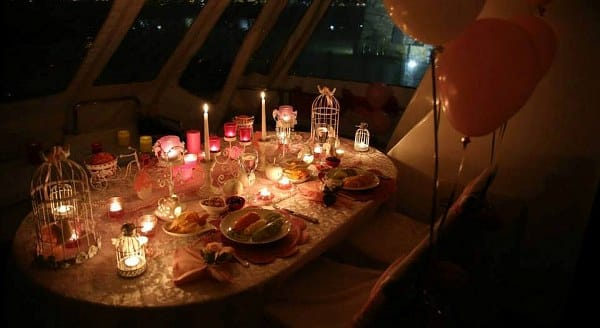 Tisch-deko-candle-light-dinner-yacht-2