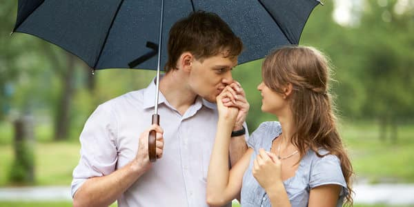 Heiratsanträge für verregnete Tage