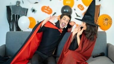 Heiratsantrag zu Halloween