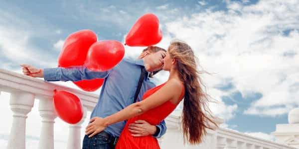 Heiratsantrag am Valentinstag