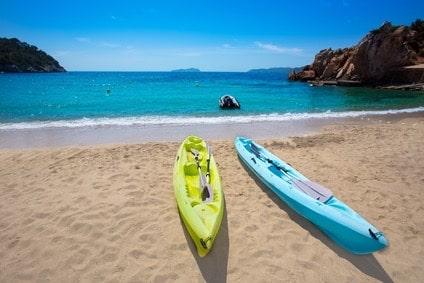 Ibiza cala Sant Vicent Strand