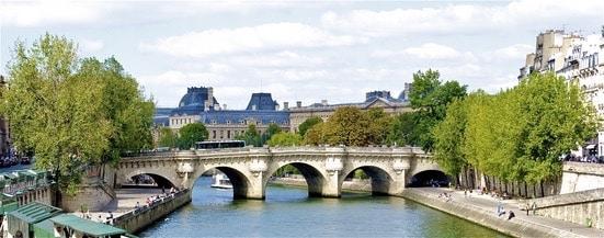Pont Neuf,  Brücke über die Seine in Paris,