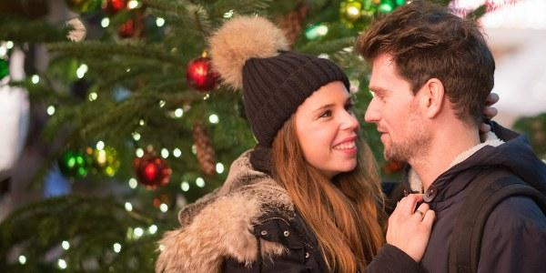 Einen Heiratsantrag zu Weihnachten machen