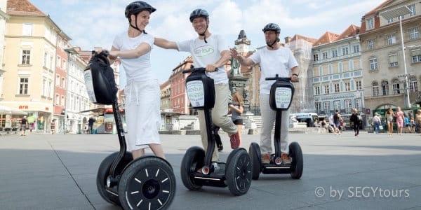 Segway Tour durch Graz - Heiratsantrag machen