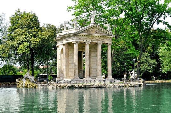 Villa Borghese in Rom - Orte für einen Heiratsantrag