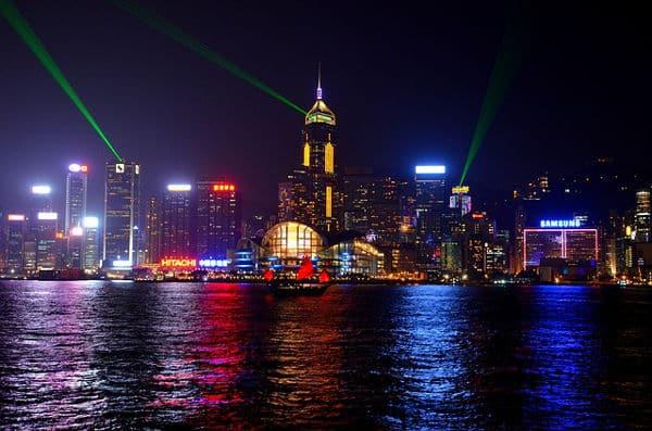 Orte für einen Heiratsantrag - Viktoria Harbor in Hongkong