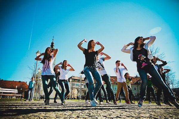 Flashmob Heiratsantrag