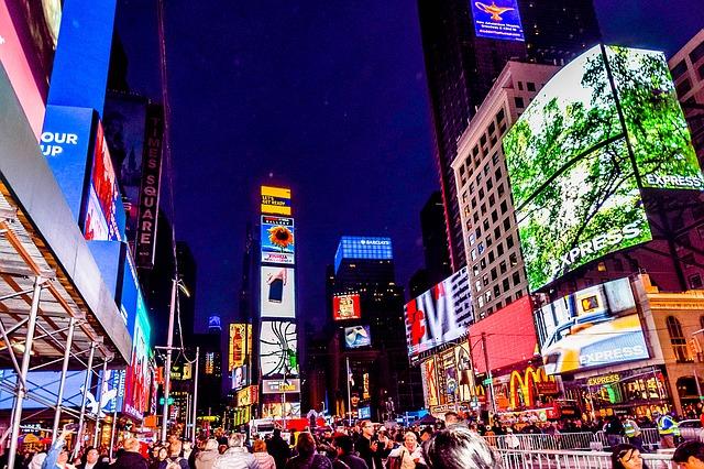 Heiratsantrag Orte - Times Square