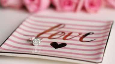 perfekten Verlobungsring