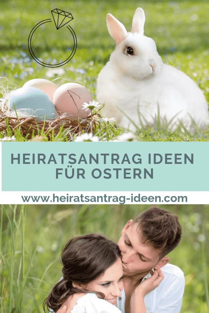 Heiratsantrag Ideen für Ostern
