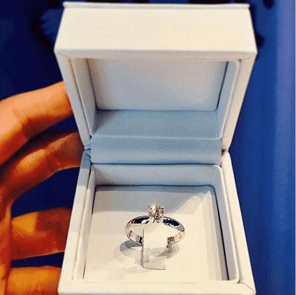 Diamant Rin 0,5 Karat