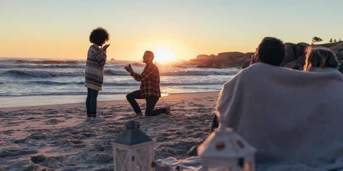 Die schönsten Orte für einen Heiratsantrag - Platz 3: Traumstrand